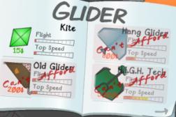 Glider Shop